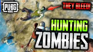 HUNTING ZOMBIES in PUBG Mobile - YouTube