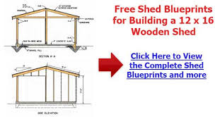 Small Picture How To Build A Storage Shed Free Plans Shed Plans Kits