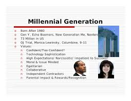 Millennial Quotes Enchanting Managing Millennial Generation Future Leaders