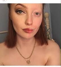 makeup transformation photo