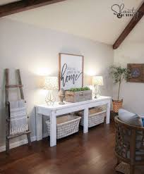 diy media consoles and tv stands 40 farmhouse console table make a do it