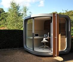 Tiny office Creative Officepodtinybackyardoffice Tiny House Talk Tiny Office Tiny House Talk
