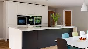 Wrap Around Kitchen Cabinets Harvey Jones Linear Kitchen With Wraparound Corian Worktop