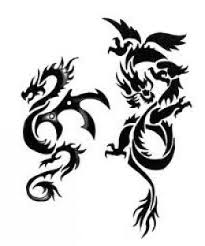 Tetování V Podobě Draka Druhy Draků Foto