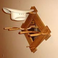 woodworking plans cowboy hat rack