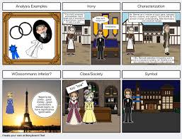 pride and prejudice analysis storyboard by vdawnie