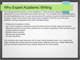 expert academic writing 4 why expert academic writing the company s