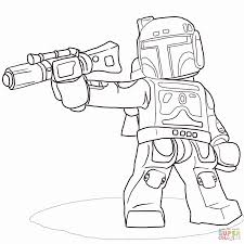 jango fett coloring page.  Jango Lego Star Wars Coloring Pages Awesome Jango Fett Of Lego  And Jango Fett Coloring Page P