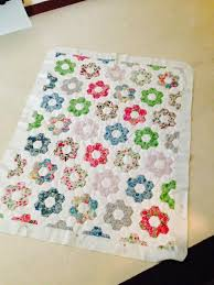 You have to see Liberty Hexagon Quilt by Miss Purl! | Hexagons ... & You have to see Liberty Hexagon Quilt by Miss Purl! Adamdwight.com