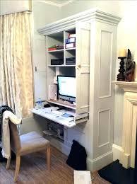hidden desk furniture. Hidden Office Desk Fold Away Furniture Cabinet Image Result For Modern Hampton White Painted Home Computer .