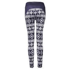 Patterned Yoga Pants Enchanting Black White High Waist Yoga Leggings Patterned Best Yoga Store