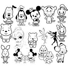 In 2012, three children were born in disneyland. Cute Disney Character Coloring Pages Cute Disney Characters Cute Disney Disney Drawings