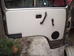 restoring the vanagon door panels vanagon s mods vanagons com