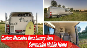 Converted Vans Look Inside Custom Mercedes Benz Luxury Vans Conversion Mobile