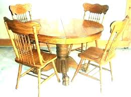 dining table set chair covers old room chairs vintage round target australia antique cherry traditiona
