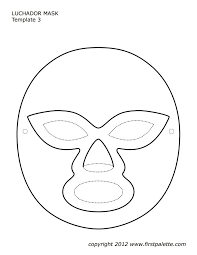 d1e2fdb3fd96666f51c3114ee7bfe741 the 25 best ideas about luchador mask on pinterest on template of transcription