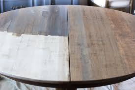 oak wood for furniture. weathered oak dining table makeover blesserhousecom a thrifted banged up wood for furniture r
