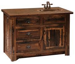 Barnwood Bathroom Barnwood Vanities Various Sizes Optional Barnwood Edged