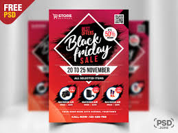 Black Friday Sale Flyer Free Psd By Psd Zone On Dribbble