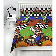 super mario bedding set out of stock super kart champs double duvet cover bedding set reversible