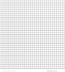 Printable Grid Paper Template Fascinating Graph Paper Template