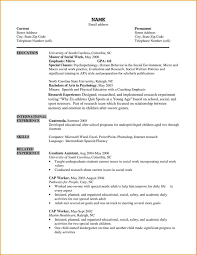 Resume Format For Msw Freshers Pdf Awesome Msw Sample Resume Resume