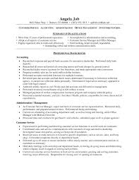 Resume Summary Examples For Customer Service Objective