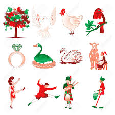 Twelve Days Of Christmas Stock Photos. Royalty Free Twelve Days Of ...