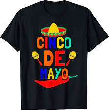 Cinco De Mayo T shirt. Fun Fiesta ...