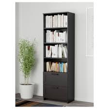 brimnes bookcase  black  ikea