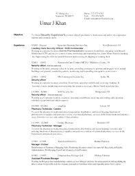 Security Forces Resume Mesmerizing Security Resume Example Best Resume Template Whizzme