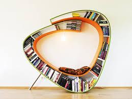 Unique Bookcase Design by Atelier 010