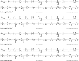 Handwriting Without Tears Print Alphabet Desk Sheets 4