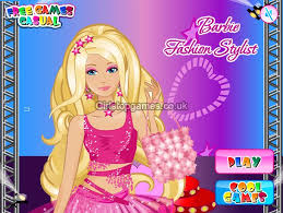 you can play barbies fashion stylist s game free at stopgames co uk in this barbie s game you can style her up precisely like she wants
