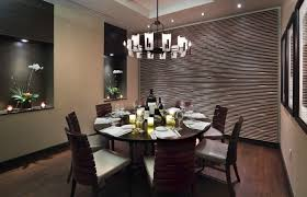 excellent interior furniture dining room decorating design ideas with dark wood round table and backrest chair cheap dining room lighting