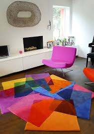 Sonya Rug : The signature collection / After Matisse modern fun shape  furniture with this rug