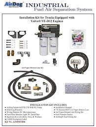 pureflow technologies inc home of the airdog® volvo ve d12 volvo ved12 d13 pdf adobe acrobat document 2 0 mb