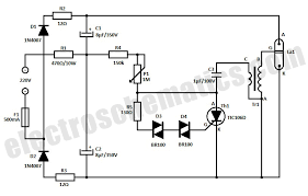 strobe light circuit strobe light circuit schematic