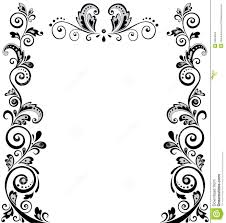 Border Black And White Black And White Wedding Border Ender Realtypark Co