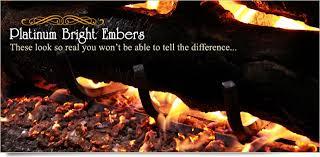 photos of gas log embers