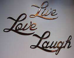 live love laugh small version words metal wall art accents on metal wall art words love with live love laugh small version words metal wall art accents 19 99