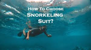 Snorkeling Suit Buying Fitting Guide Snorkel Around