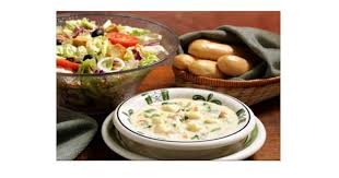 get together with a friend to catch up and enjoy a great lunch at a great at olive garden this week through friday 3 30 their soup