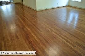 diy refinished hardwood floors original 65 year old oak floors were hidden under