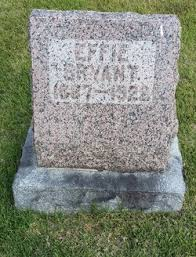 "Mary Effaline ""Effie"" Warner Bryant (1887-1922) - Find A Grave Memorial"