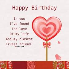 Happy Birthday Love Quotes Stunning 48 Beautiful Birthday Love Quotes Romantic Birthday Sayings For
