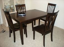 dark wood dining room furniture. Sofa Surprising Dark Rustic Kitchen Tables Alluring Black Wooden Within Square Wood Dining Table Regarding Really Encourage Room Furniture G
