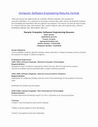 Engineering Resume Objective Statement Examples Example Resume Objective Fresh software Engineer Resume Best Sample 20