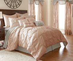 image of cool light pink comforter twin xl