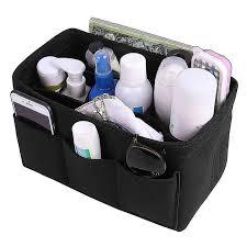 <b>Felt Cloth</b> Insert <b>Storage Bag</b> Organizer Makeup Organizer Multi ...
